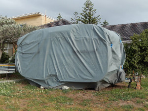 Covered Caravan